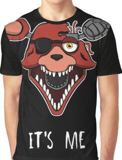 Five Nights at Freddy's - FNAF 2 - Foxy - It's Me Graphic T-Shirt