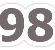 DOB - 1986 Sticker