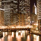 Downtown Chicago by John Attebury