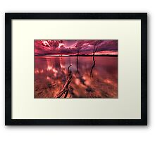 Many rivers to cross, but I can't seem to find my way over Framed Print