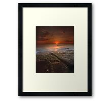 """The Darkest Days"" ∞ Merimbula, NSW - Australia Framed Print"