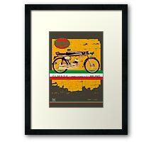 mondial cafe racer Framed Print