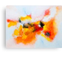 Orange voyage Canvas Print