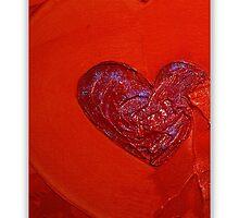Heart Art by Fiona Gardner