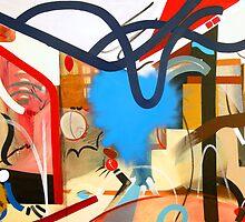 Abstract Interior #7 by Lisa V Robinson