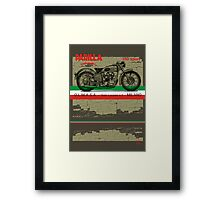 Parilla 250 Sport Framed Print