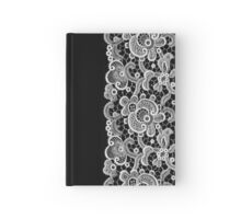 White Lace Hardcover Journal