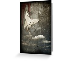 Death of a Butterfly Greeting Card