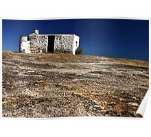 """""""The Abandoned cottage"""" - west coast - South Africa Poster"""