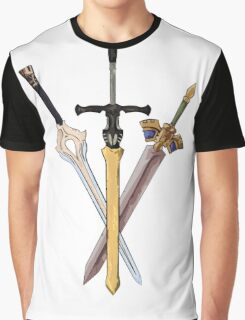 Fire Emblem - Legendary Swords Graphic T-Shirt