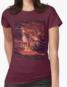 Shadow of a Thousand Lives Womens Fitted T-Shirt