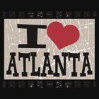 I love Atlanta by Nhan Ngo