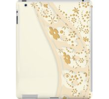Flowing Flowers iPad Case/Skin