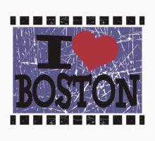 I love Boston Kids Tee