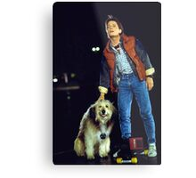 marty mcfly back to the future Metal Print