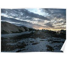 """""""West coast winter sky"""" - Paternoster - South Africa Poster"""