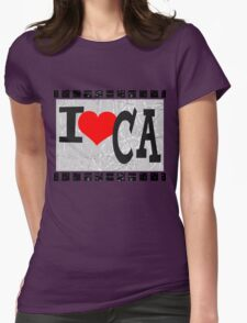 I love California Womens Fitted T-Shirt