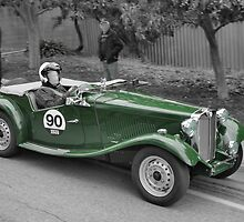 MG TD 1951 by Geoffrey Higges