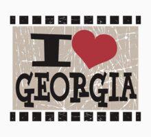 I love Georgia Kids Tee