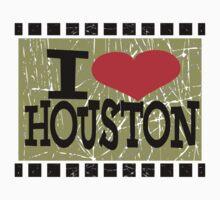I love Houston Kids Tee