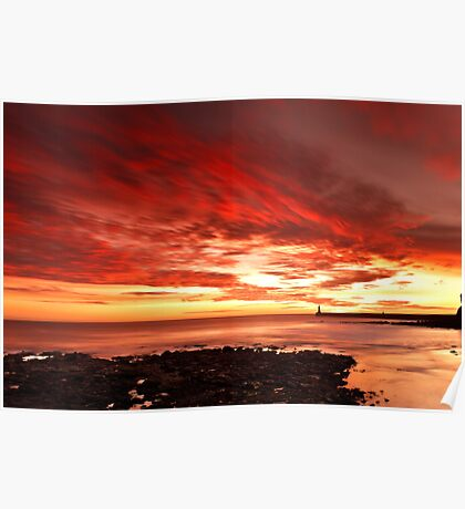 Tynemouth Sunrise Poster