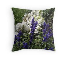Domestic wilderness Throw Pillow