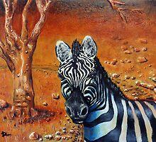 Berny The Zebra by Josh De Pasquale