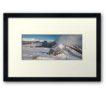 Winter Time Framed Print