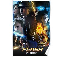 The Flash Season 2 Poster Poster