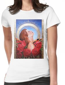 At Peace Womens Fitted T-Shirt