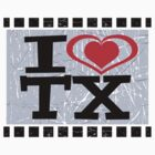 I love Texas by Nhan Ngo