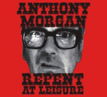 Anthony Morgan - Repent At Leisure (Black) by ffarff