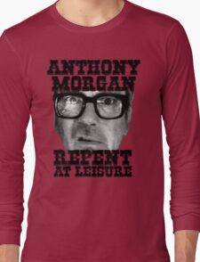 Anthony Morgan - Repent At Leisure (Black) Long Sleeve T-Shirt