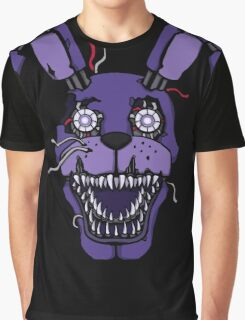 Five Nights at Freddy's - FNAF 4 - Nightmare Bonnie Graphic T-Shirt