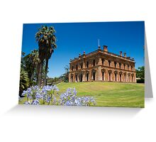 Martindale Hall, Mintaro, South Australia Greeting Card