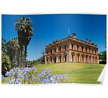 Martindale Hall, Mintaro, South Australia Poster