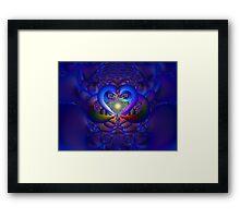 Heart of the Matter Framed Print