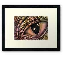 The Eye of the Dragon Framed Print