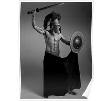 Modern Antiquity - Grecian Warrior Poster