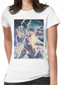 Arctic Mysteries Womens Fitted T-Shirt