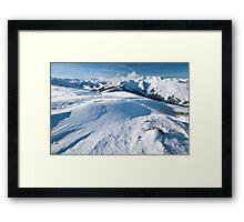 Maurerkogel, Zell am See, Austria Framed Print