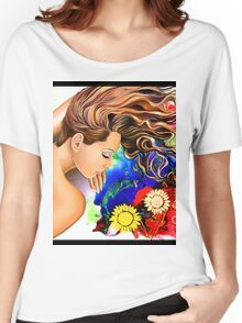 Asleep in the Garden Women's Relaxed Fit T-Shirt
