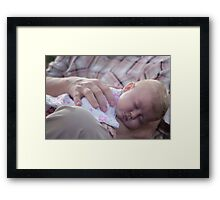 Safe and Sound Framed Print