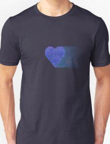 halftone heartblue fade T-Shirt