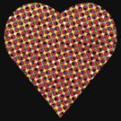 halftone heart by venitakidwai1