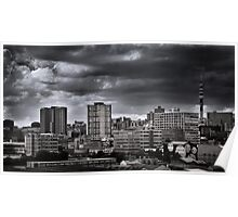 Storm over Jozi Poster