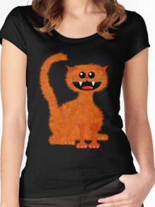 MARMALADE CAT Women's Fitted Scoop T-Shirt
