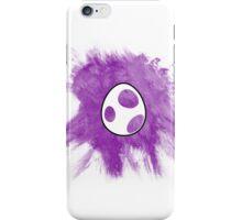 Purple Yoshi Egg iPhone Case/Skin
