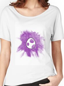Purple Yoshi Egg Women's Relaxed Fit T-Shirt