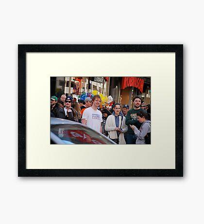 the robinsons  Framed Print